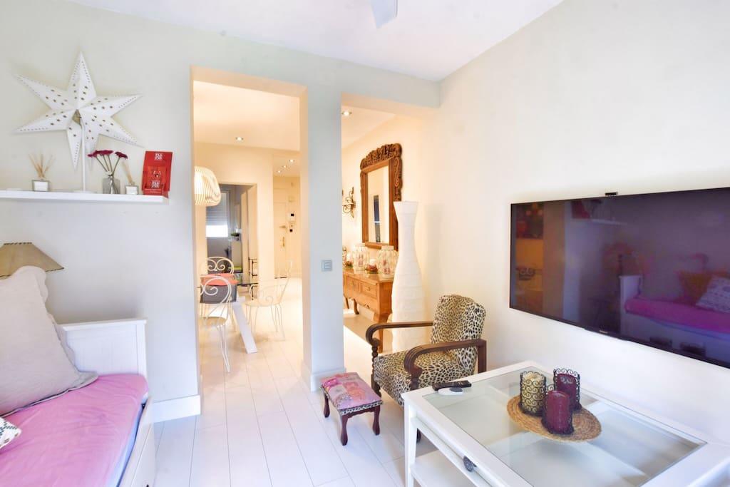 Televisión y sala de estar