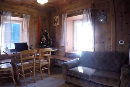 Accogliente casa tipica vicino alle piste - Fontanazzo - Rumah