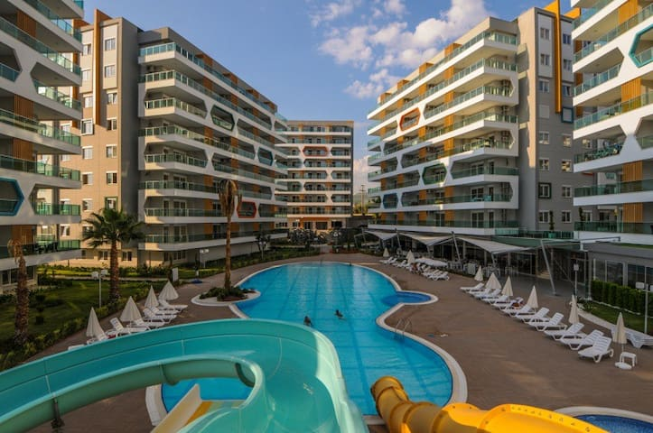 Emerald Park 2-bedroom apartment - Avsallar Belediyesi - อพาร์ทเมนท์