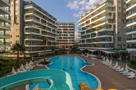 Emerald Park 2-bedroom apartment - Avsallar Belediyesi - Apartemen