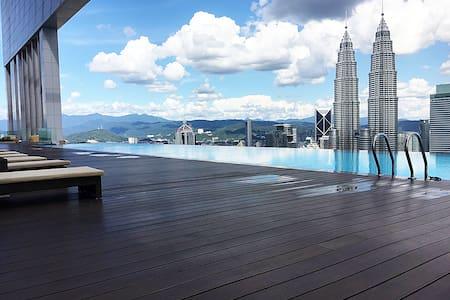 #New!! 5ppl-Near TwinTower KLCC - Kuala Lumpur - Appartamento con trattamento alberghiero