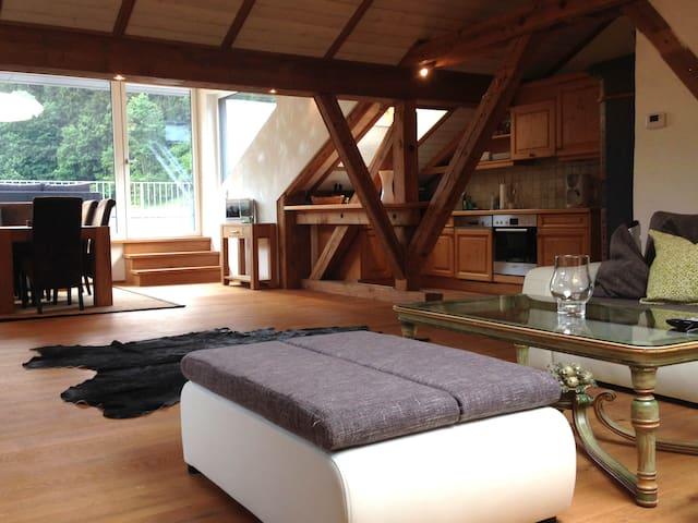 Schöne 90m2 Wohnung mit 45m2 Terrasse in Kitzbühel