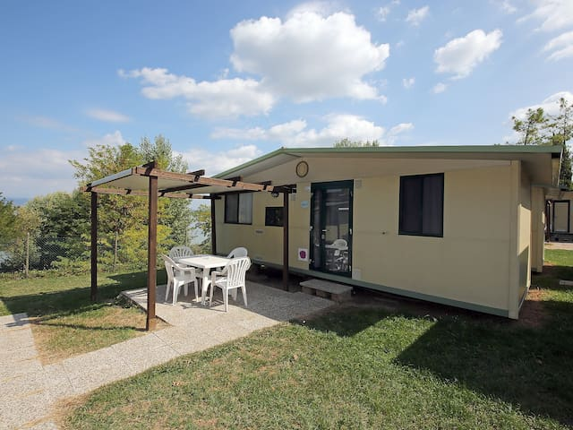 """Garda"", 3-room mobile home 24 m² Camping San Benedetto"