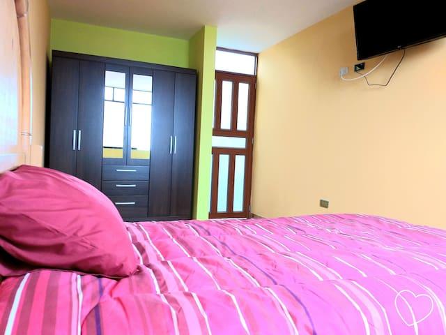 Habitacion privada - Casa Los Robles