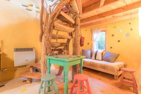 Mágica casita de Adobe - 聖卡洛斯-德巴里洛切 - 小木屋