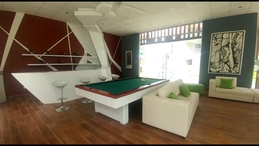 Moderno Departamento , 1 Dormitorio,  piscina  Gym - Piura - Lakás
