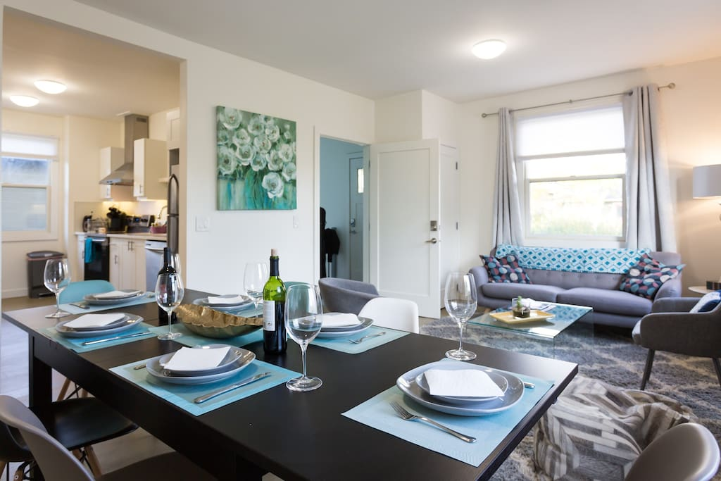 Living and dining combined room