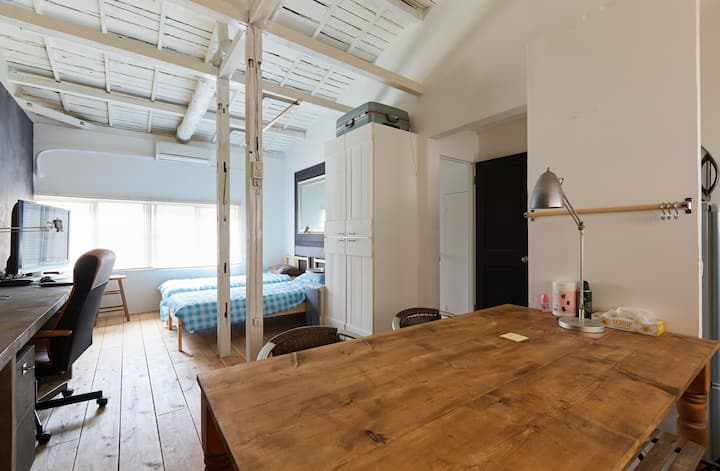 Monthly only!yokohama  old style apartment 35m2