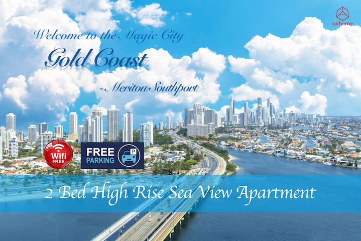 Panoramic High lvl Sea 🌊 View APT in GoldCoast