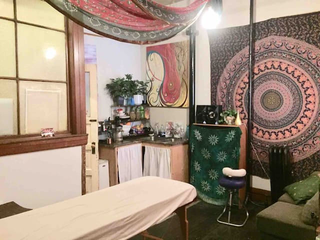 Yoga/Massage Studio in the Heart of the City
