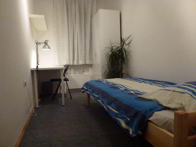 Simple room #6 near Tivoli park / free parking