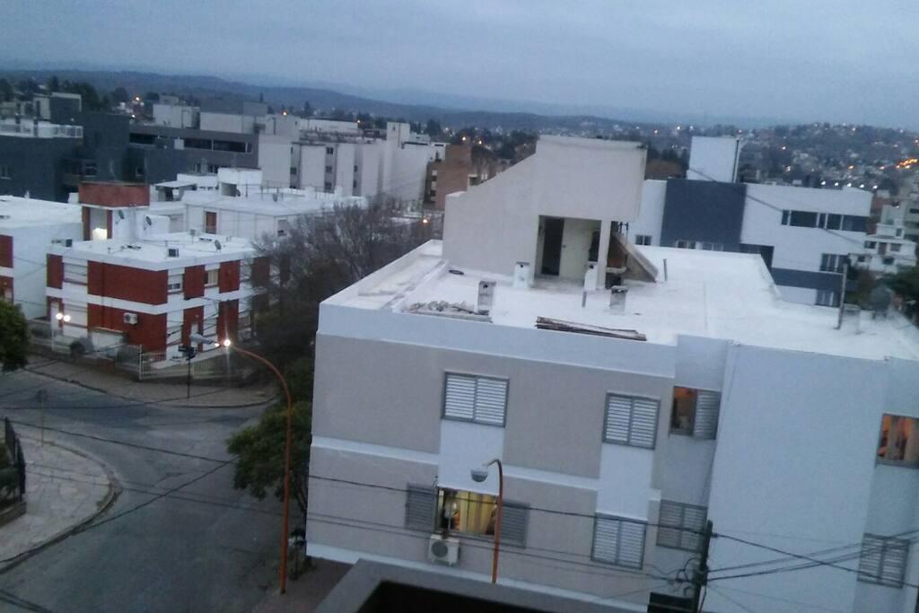 vista del balcón que da al frente