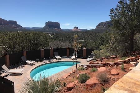 Magical Sedona home in exclusive development