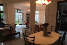 Full view of Living/Lounge and Dining areas