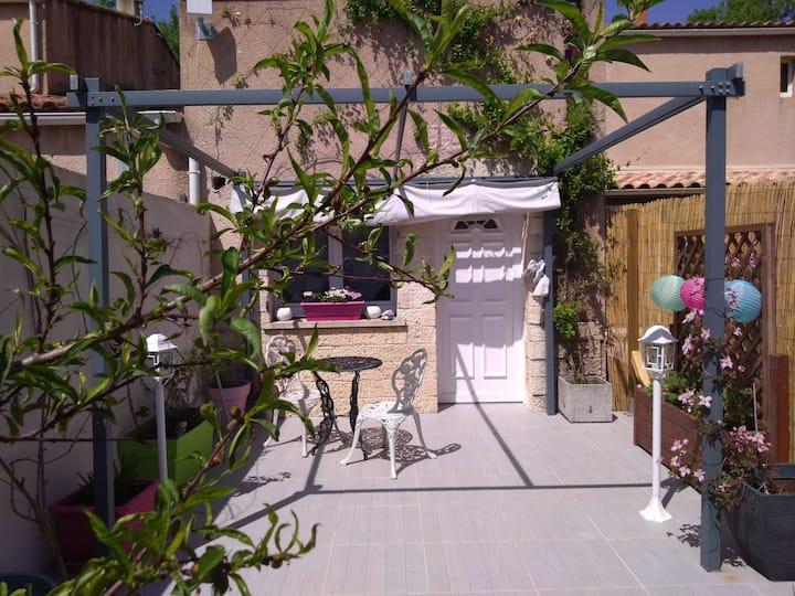 Logement de 30m2 avec terrasse privée de 8m2