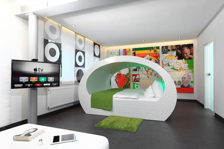 Design Juniorsuite mit Bergblick inkl. Frühstück