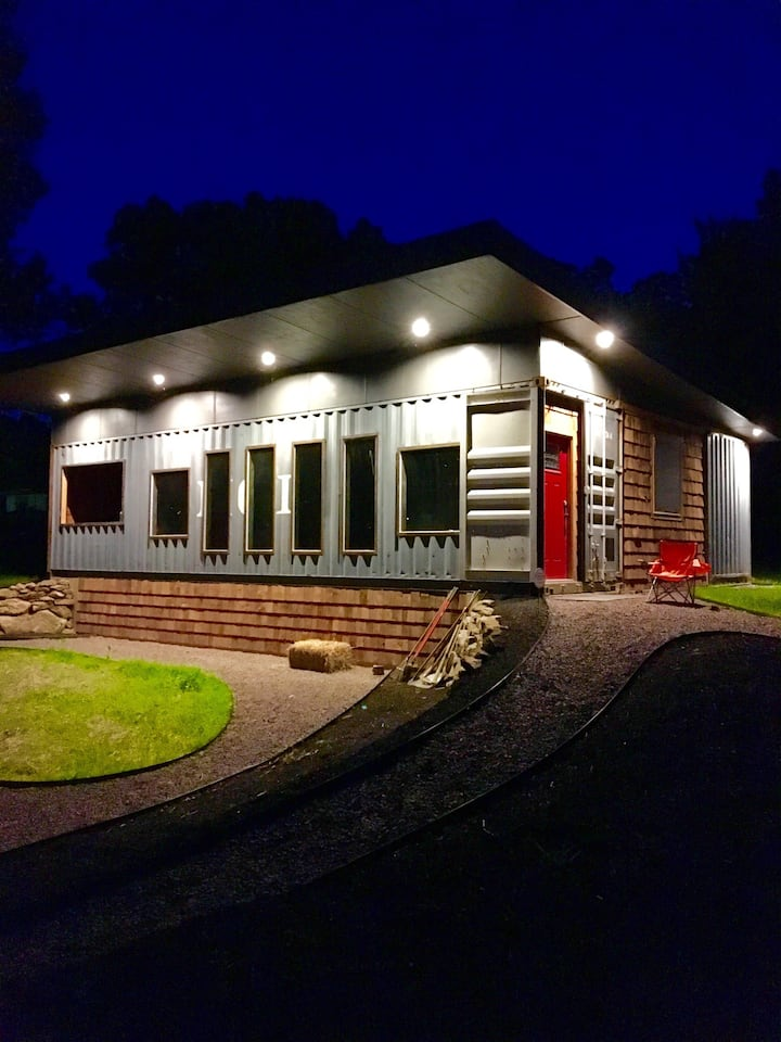 Shipping Container Cabin in RRG