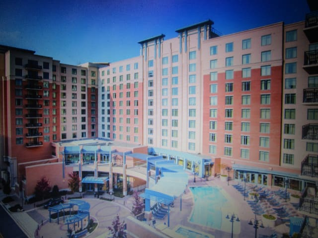THREE BEDROOM WITH BALCONY WYNDHAM NATIONAL HARBOR