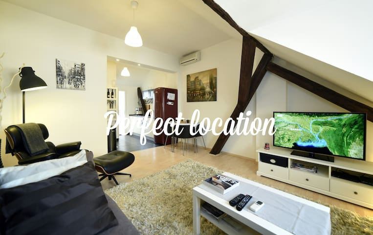 Cosy Loft in Super Central Location - Zagabria - Loft