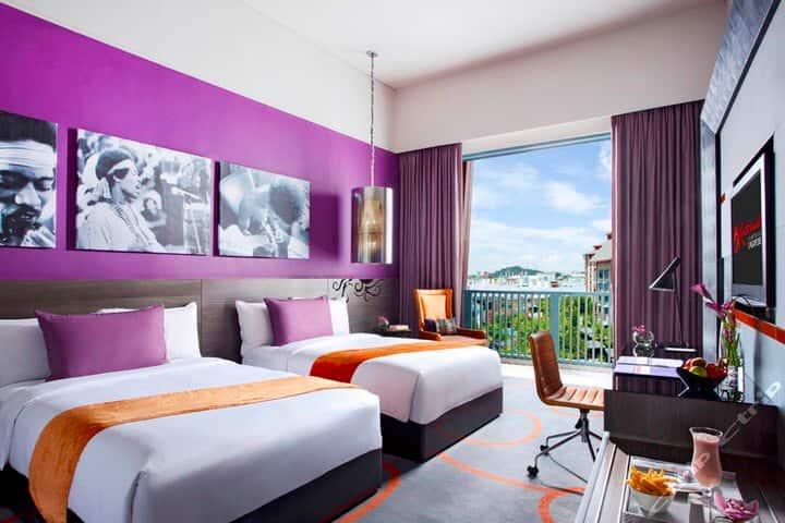 Singapore Sentosa hardrock festive Michael hotel