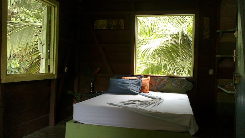 Jungle view HOUSE        75mts from BEACH! - Puerto Viejo de Talamanca - House