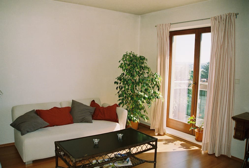 Brand new very comfortable sofa, beautiful view, direct entrance to the terrace...