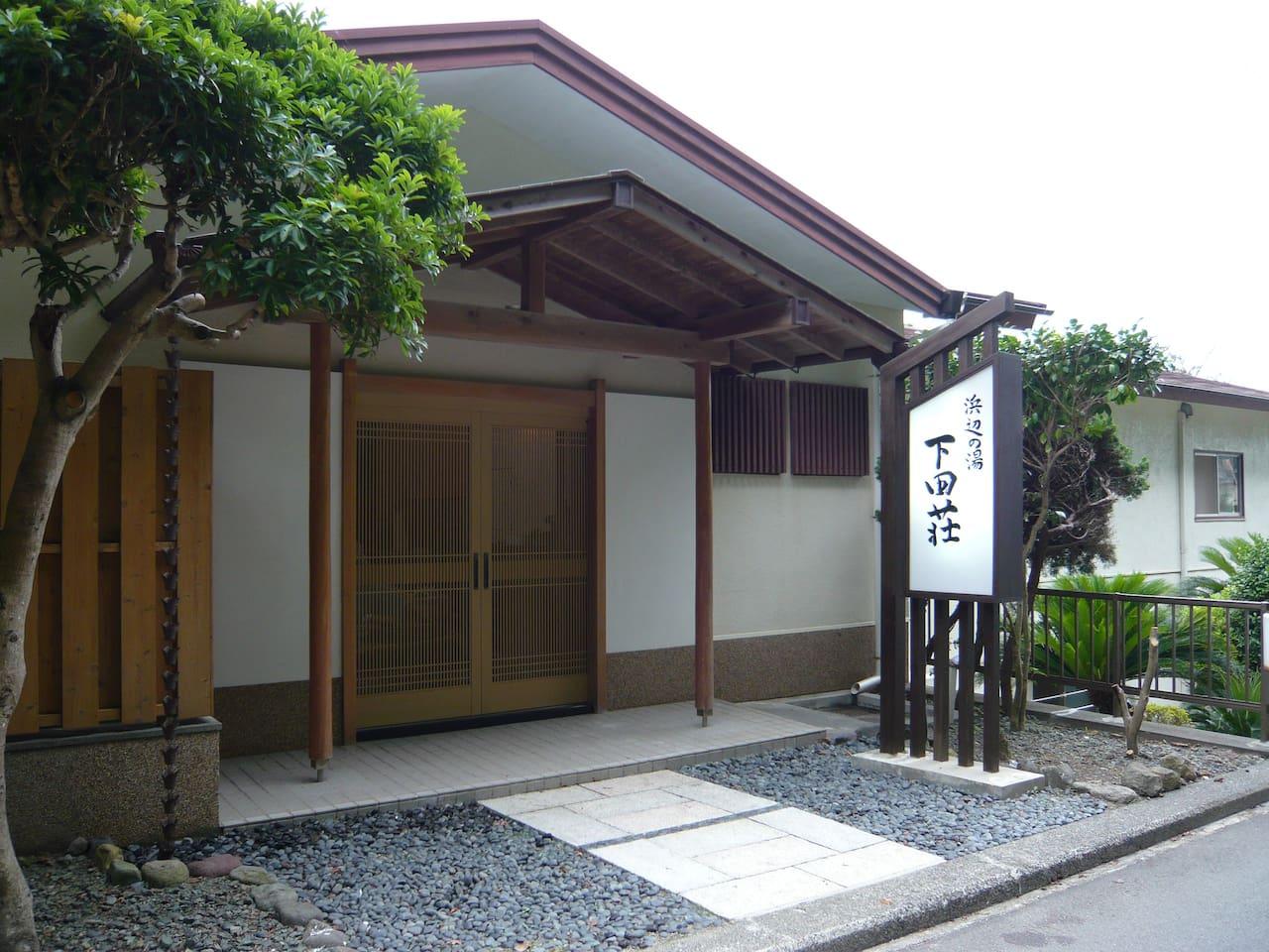 日本風の落ち着いた玄関