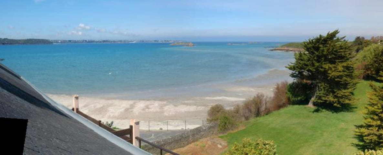 Duplex Vue Panoramique Mer - Wifi - Saint-Jacut-de-la-Mer - Appartement