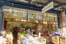 Local Market (2 min walk away)