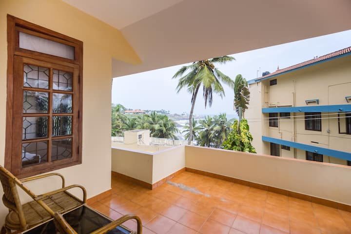 Peaceful 3bhk Villa  Lighthouse Beach at Kovalam