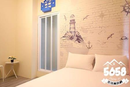 逢甲FUN space/Blue House雙人房/特別限定 - Xitun District