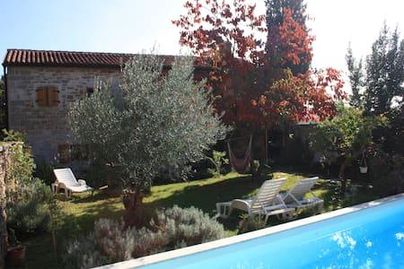 Home of Sloboda  -  stone villa with pool