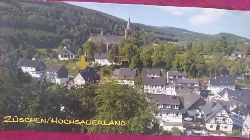 Idyllische Winterberg-Züschen