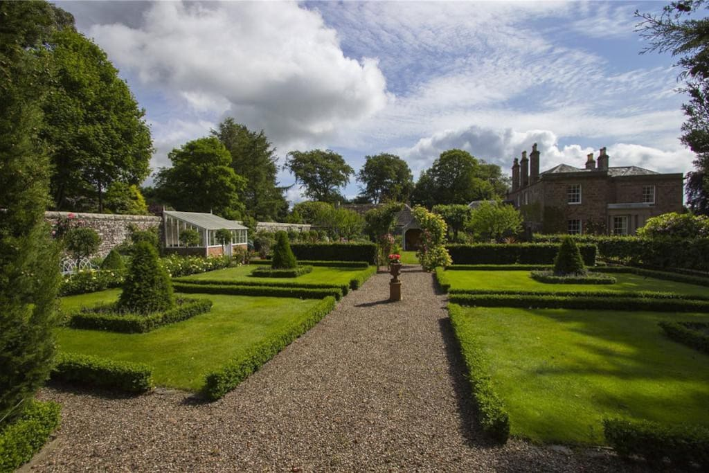 Gorgeous walled garden