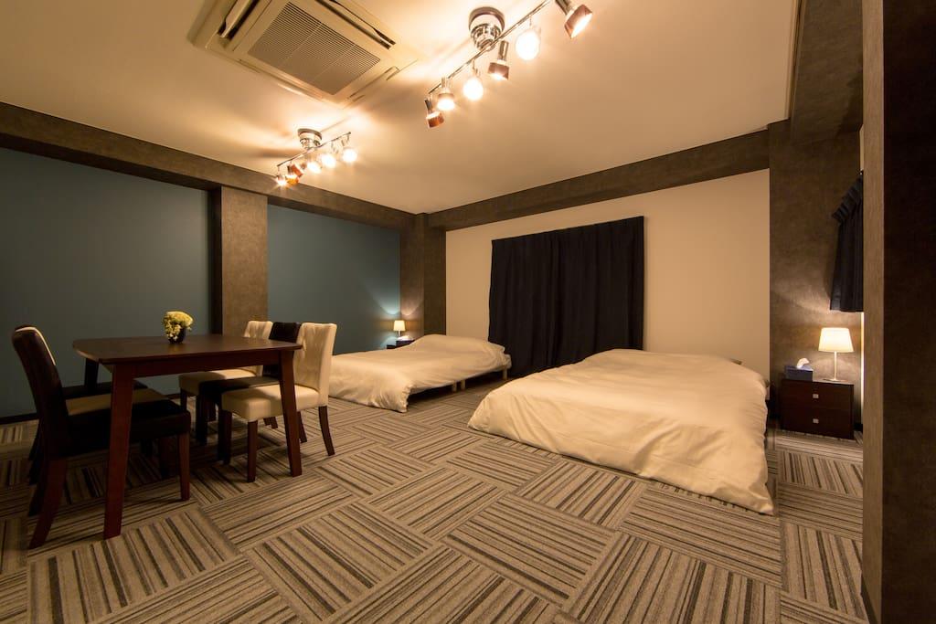 Luxury and spacious bedroom ②/豪华和宽敞的卧室②/호화 넓은 침실 ②