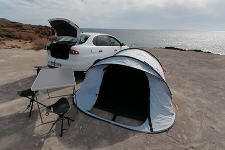 Tenerife sobre ruedas conduce y acampa