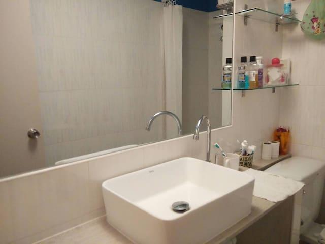 Elegant water closet