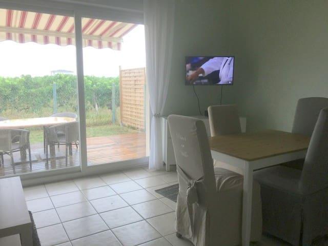 T3 plain pied - jardin - à 30 minutes de BORDEAUX - Beguey - Apartamento