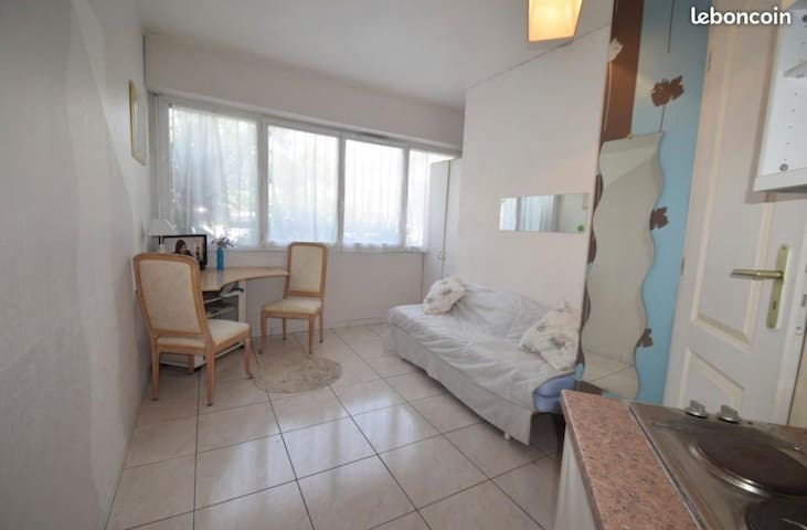 Nice studio 15mn from Airport and City Center