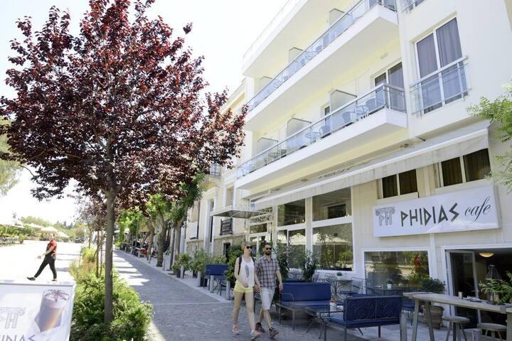 Φιλοξενία Στην Καρδιά Της Αθήνας. *4