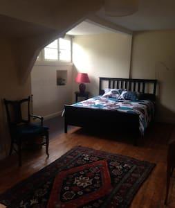 Chambre familiale 40m2 centre Azay - Azay-le-Rideau
