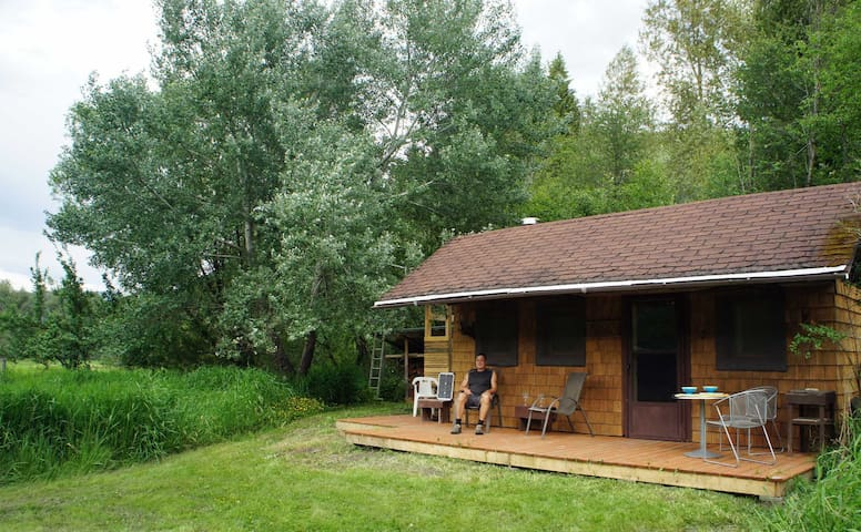 Whistling Eagle- Off Grid Cabin - Winlaw - Srub