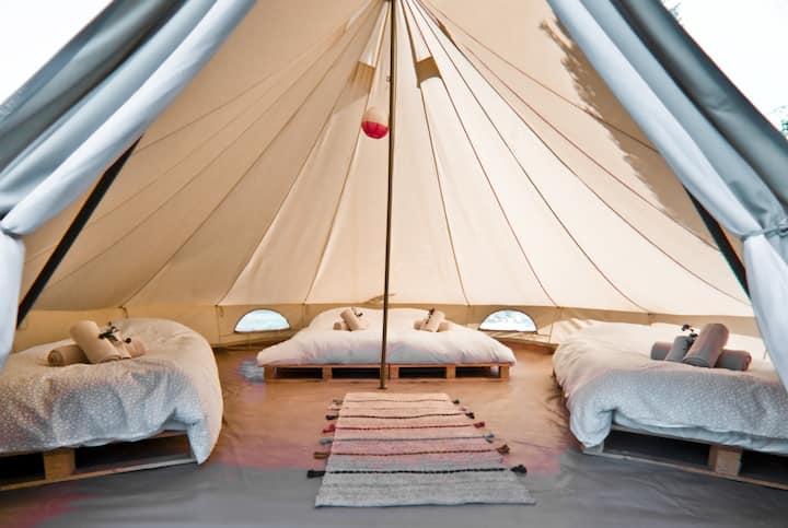 Fino Seixo, koninklijk kamperen tent 4