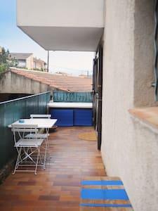 Studio proche mer à Carqueiranne - Carqueiranne - Appartement