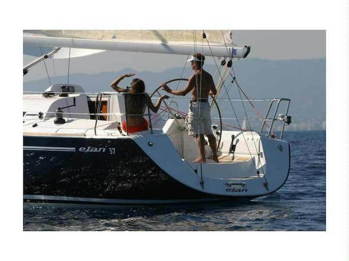 Sailing Boat Elan 37