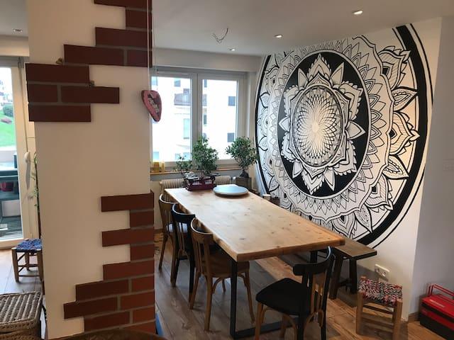 Charmant appartement vue sur les Vosges - MULHOUSE