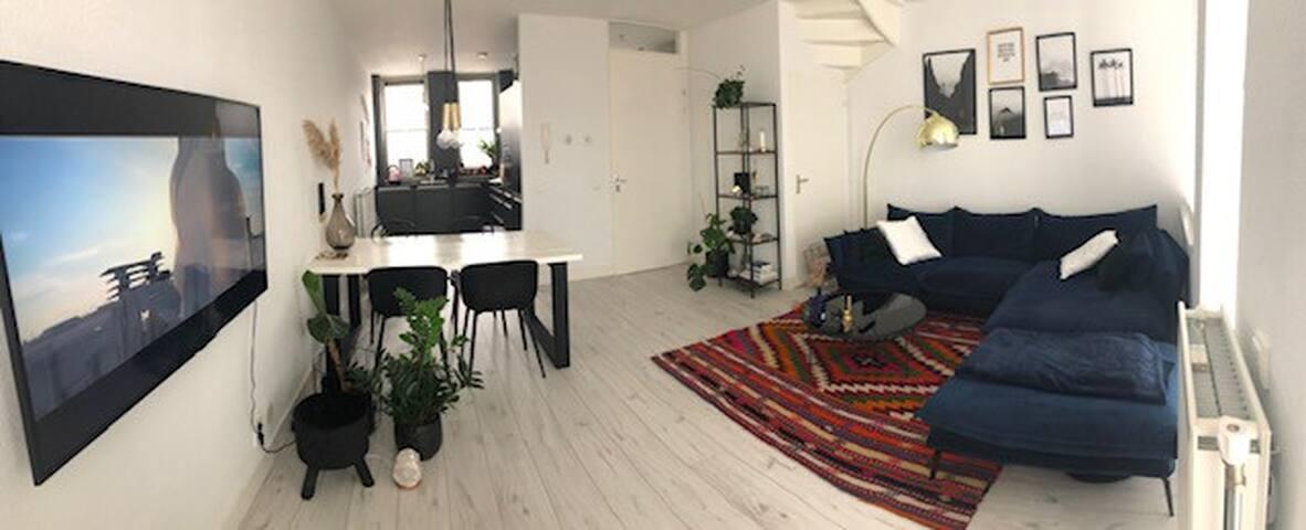 Private living maisonette