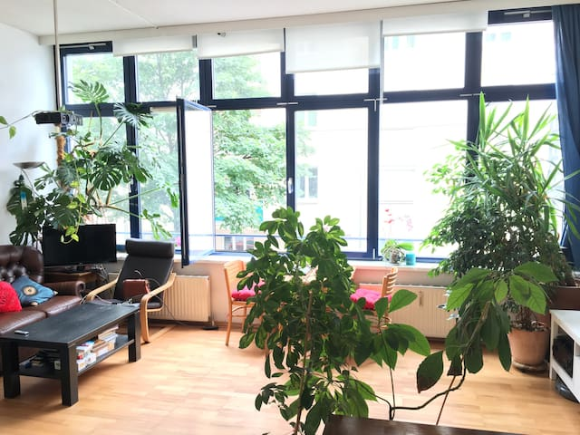 Beautiful 75m2, big sunny room ,central - Vienna - Departamento