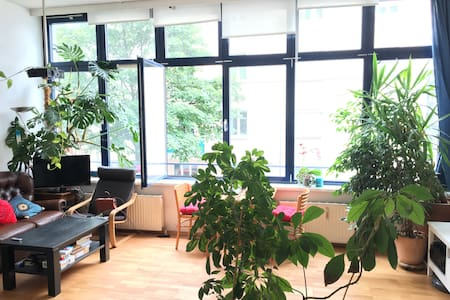 Beautiful 75m2, big sunny room ,central - Wien - Wohnung