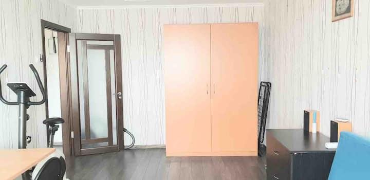 Уютная квартира в пешей доступности от ТЦ Москва
